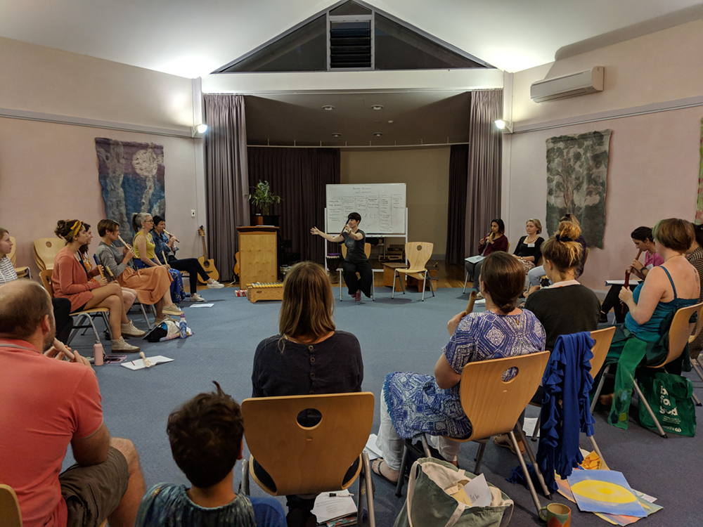 Group Music Classes Sydney Rudolf Steiner College