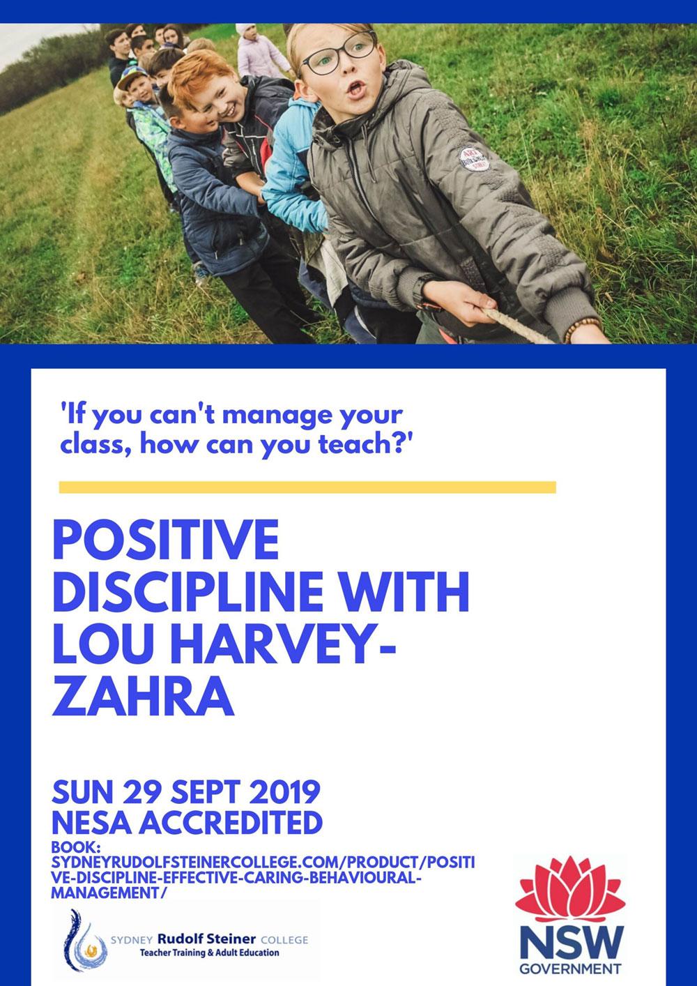 Positive Discipline - Sydney Rudolf Steiner College
